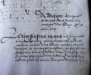 Comment remonter une généalogie au-delà des registres paroissiaux ? dans Généalogies matieu-300x248
